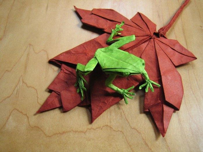Уникальные удивительные оригами Брайана Чана (Brian Chan)