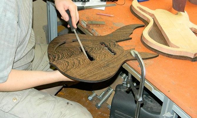 Изготовление акустической гитары своими руками в домашних условиях