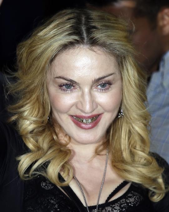 Новые украшения Мадонны