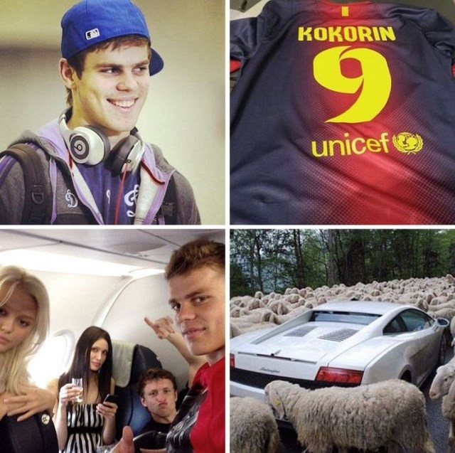 Как отдыхают российские футболисты,  фото в Instagram