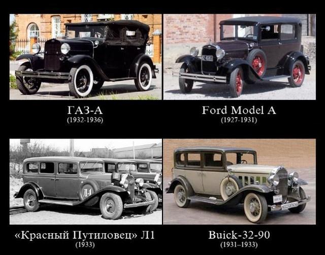 Отечественный автопром и зарубежные машины
