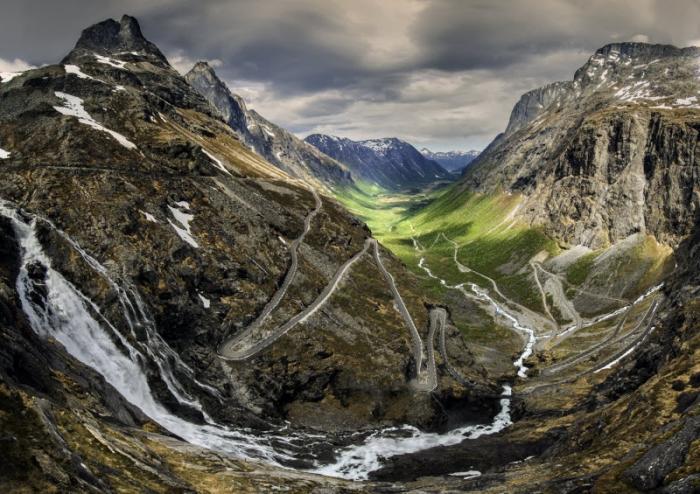 Удивительные пейзажи Норвегии