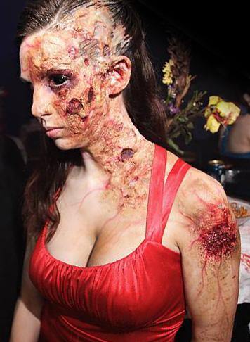Идеальный женский макияж для Хэллоуина
