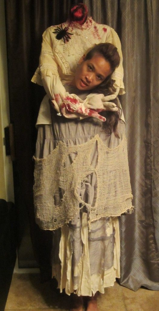 Создание креативного костюма для Хэллоуин