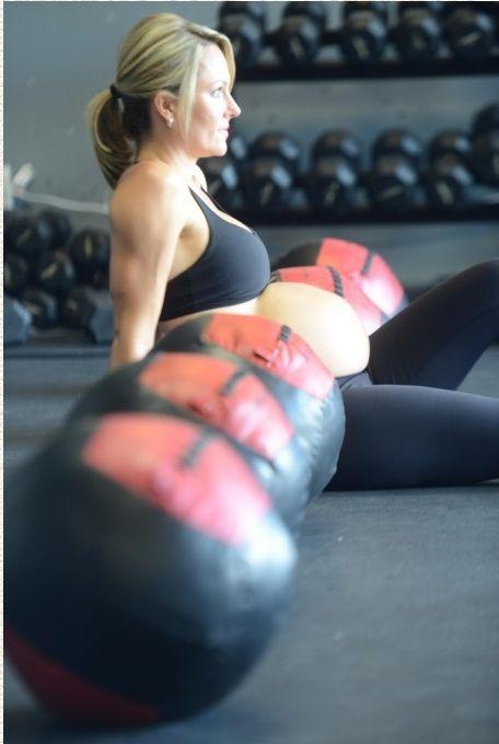 Беременность не помеха для занятия спортом