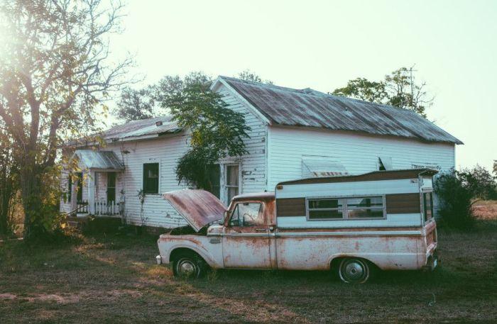 Заброшенный дом в Техасе