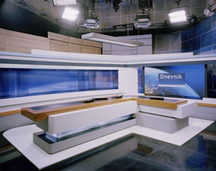 TV студии разных стран мира