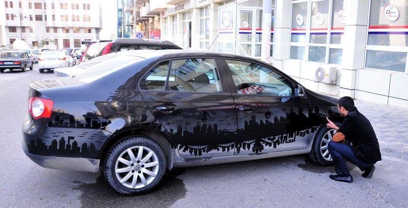 рисунки на автомобилях