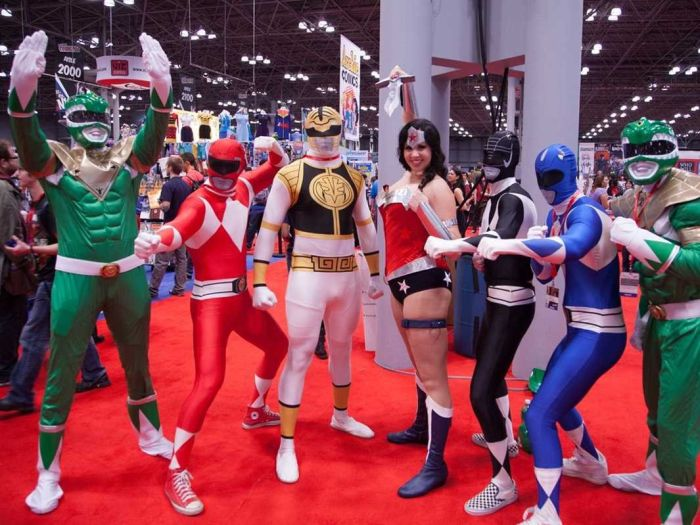 Участники New York Comic Con 2013