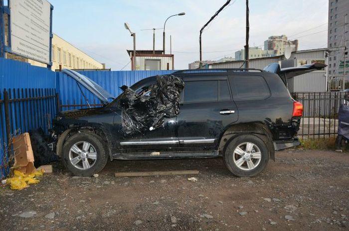Владелец сам нашел свой угнаный авто