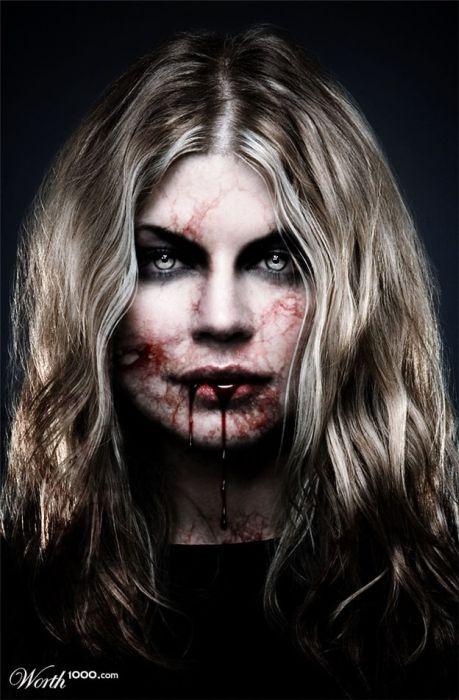 Если бы знаменитости были вампирами