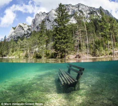 Подводный парк в Австрии