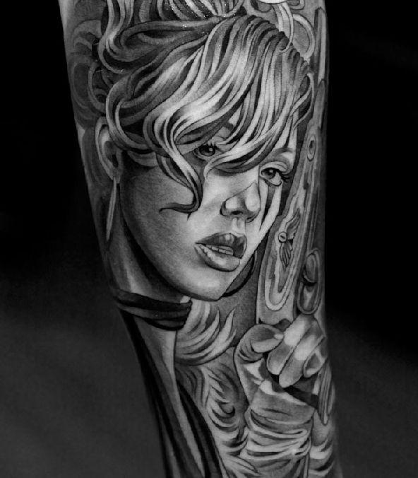 Удивительные татуировки