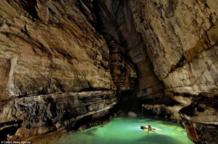Новая пещера в провинции Chongquing