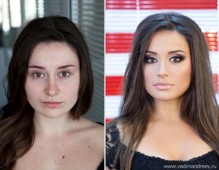 Чудеса макияж