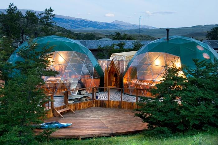 Отель EcoCamp Patagonia