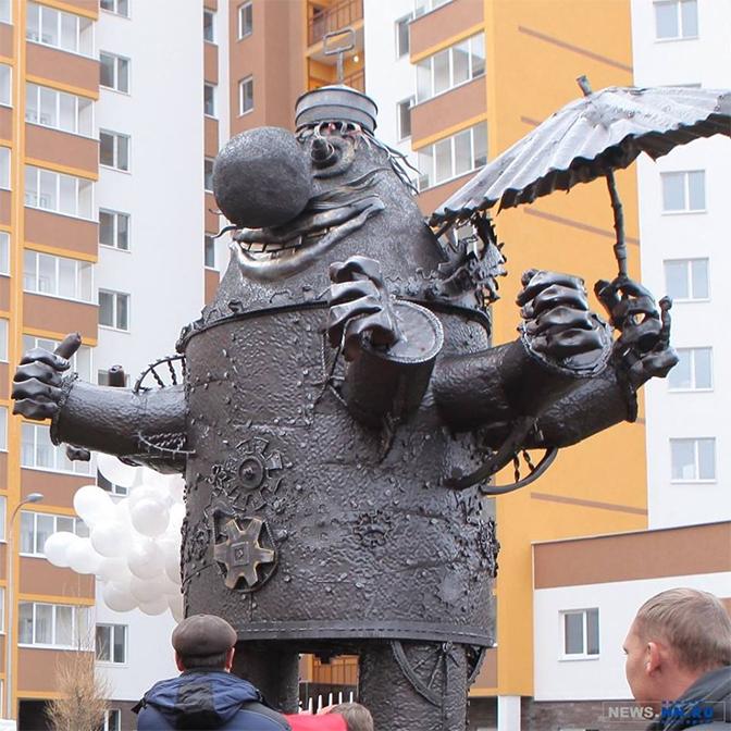 Памятник Громозеке