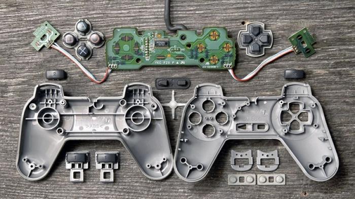 Что внутри игровых джойстиков