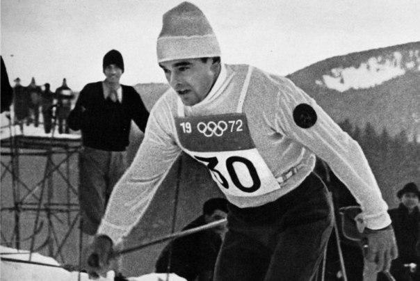 Герой зимних олимпийских игр 1972 года.