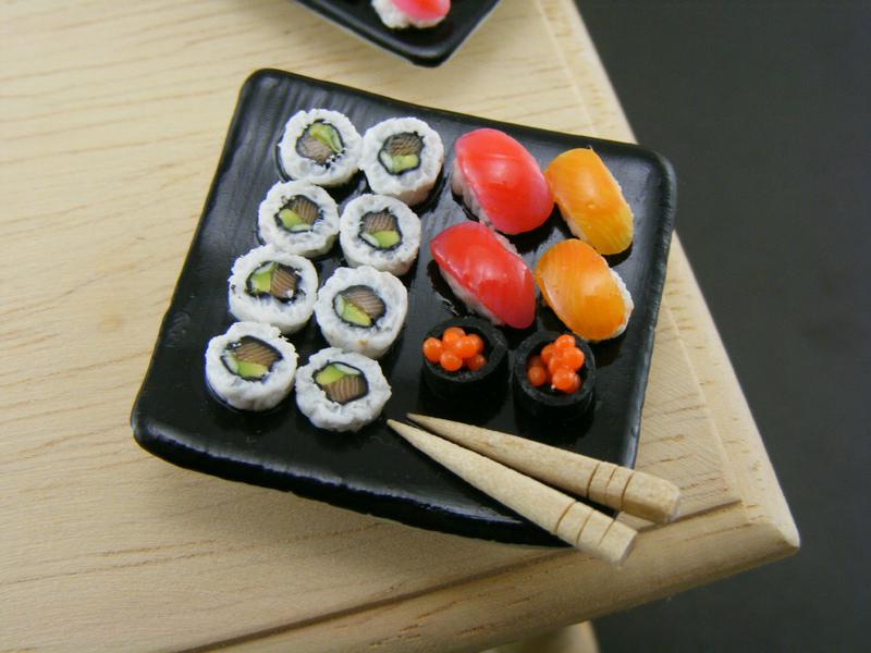 Поделки из полимерной глины еда