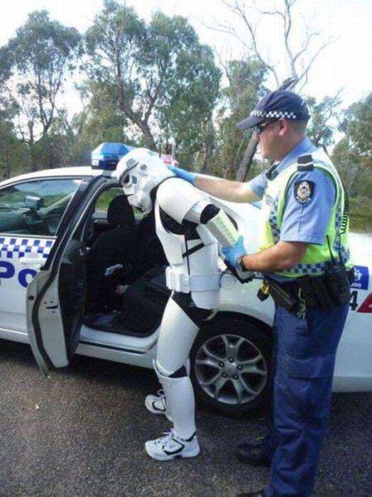 Смешные полицейские картинки