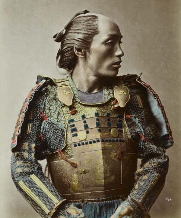 Фотографии реальных самураев