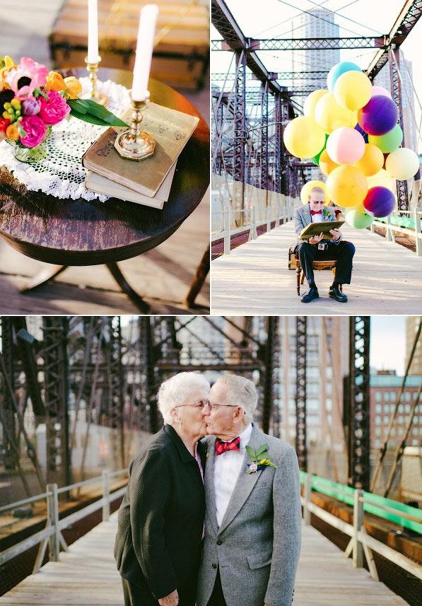 Love-Story к 61 годовщине свадьбы
