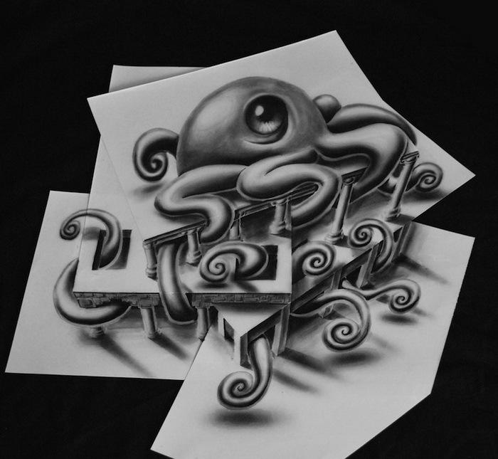 3D-рисунки Рамона Брюина