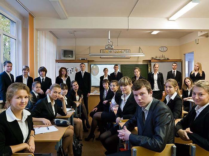 Ученики и школьные классы в разных странах мира
