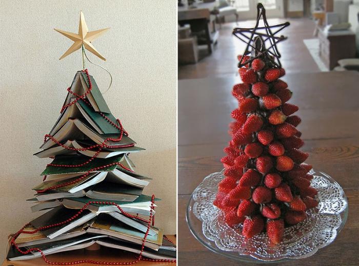 Креативные идеи для новогодних елок