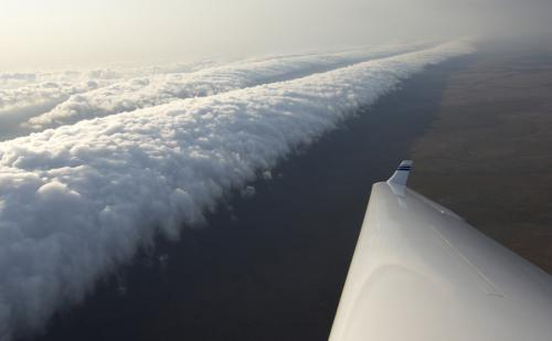 Утренняя глория - облака-убийцы
