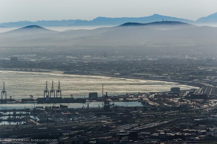 Кейптаун с высоты птичьего полёта