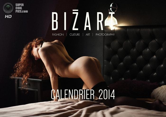 Эротический календарь от Bizart Magazine