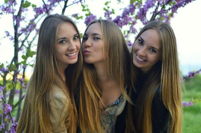 Милые девушки