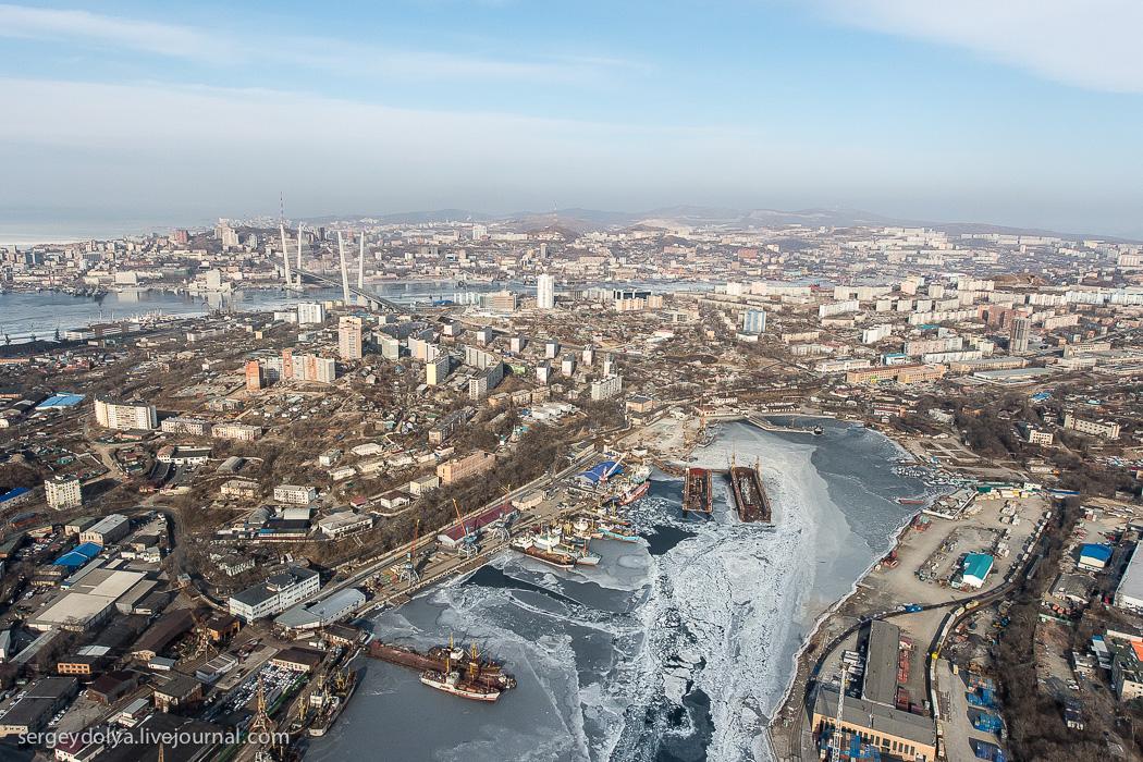 владивосток с высоты птичьего полета фото компаний товаров услуг
