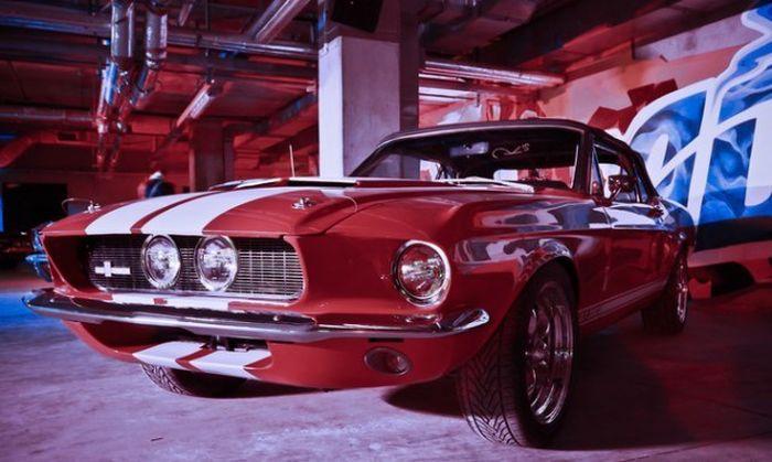 Выставка Muscle-Cars в Санкт-Петербурге