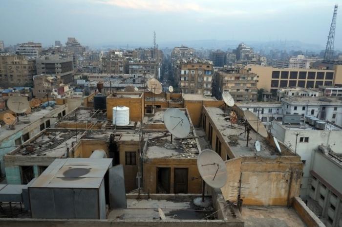 Жизнь на крыше в Каире