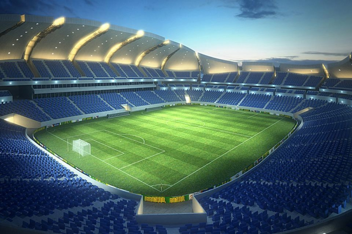 Стадион-цветок Arena das Dunas