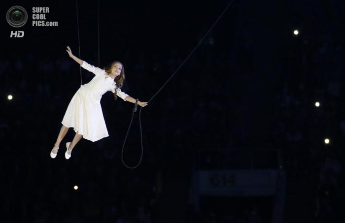 Церемония открытия XXII Олимпийских зимних игр в Сочи