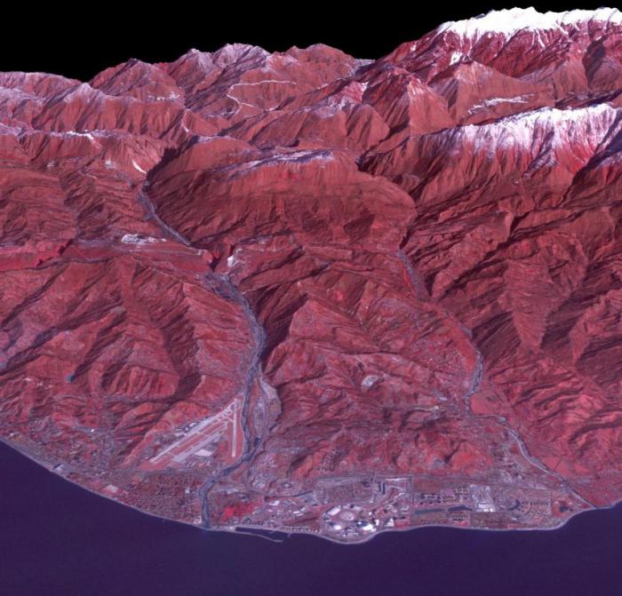 Снимки Сочи из космоса