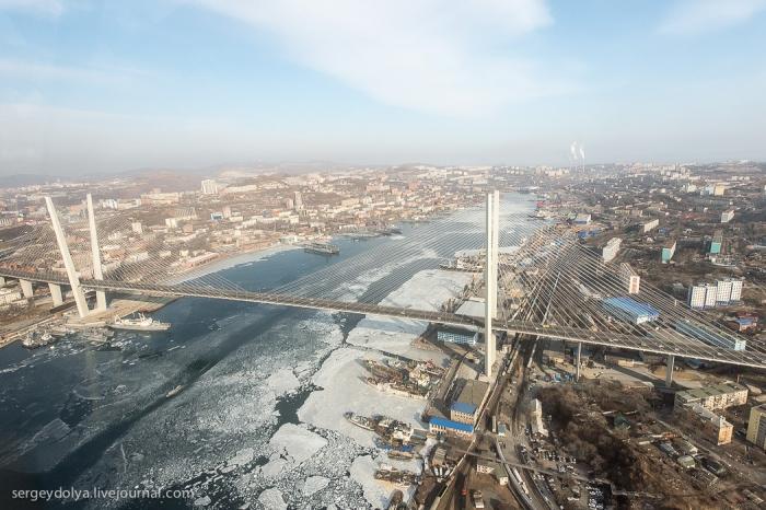 Владивосток с высоты птичьего полета