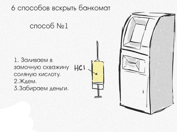 Способы взломать банкомат