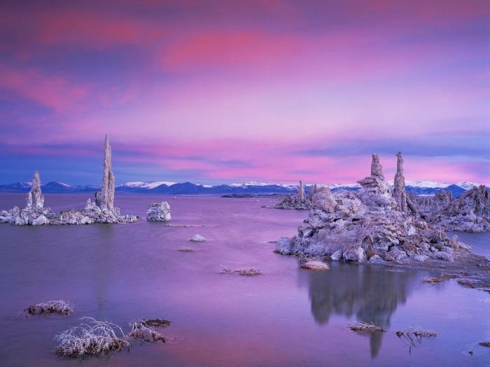 Озере Моно