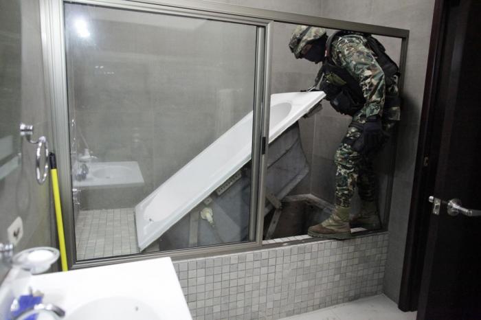 тоннели мексиканского наркобарона