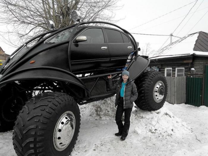 Автомобиль для русской зимы