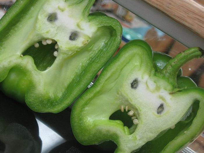 Забавные овощи