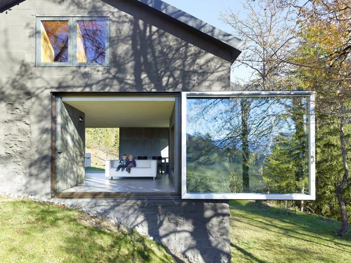 Дом в швейцарской деревне