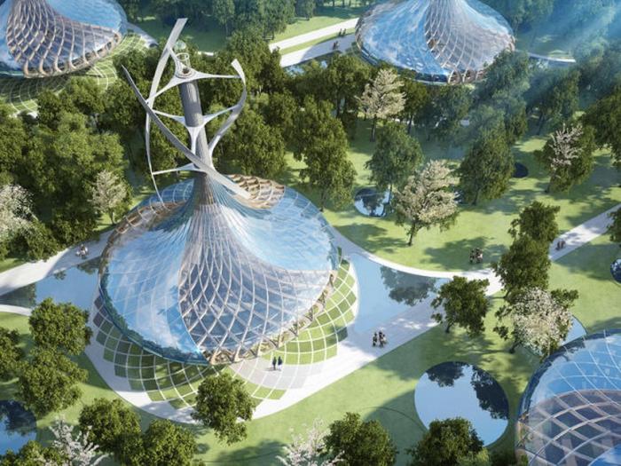 Проект эко города в Китае