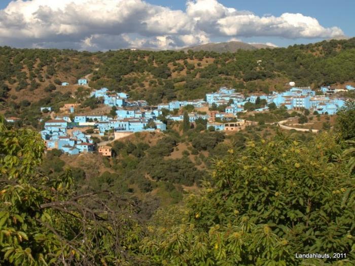 голубая деревня