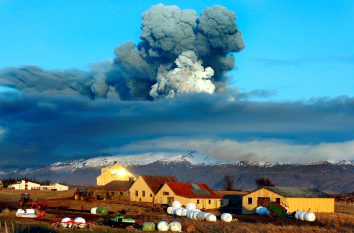 вулкан Эйяфьядлайокюдль